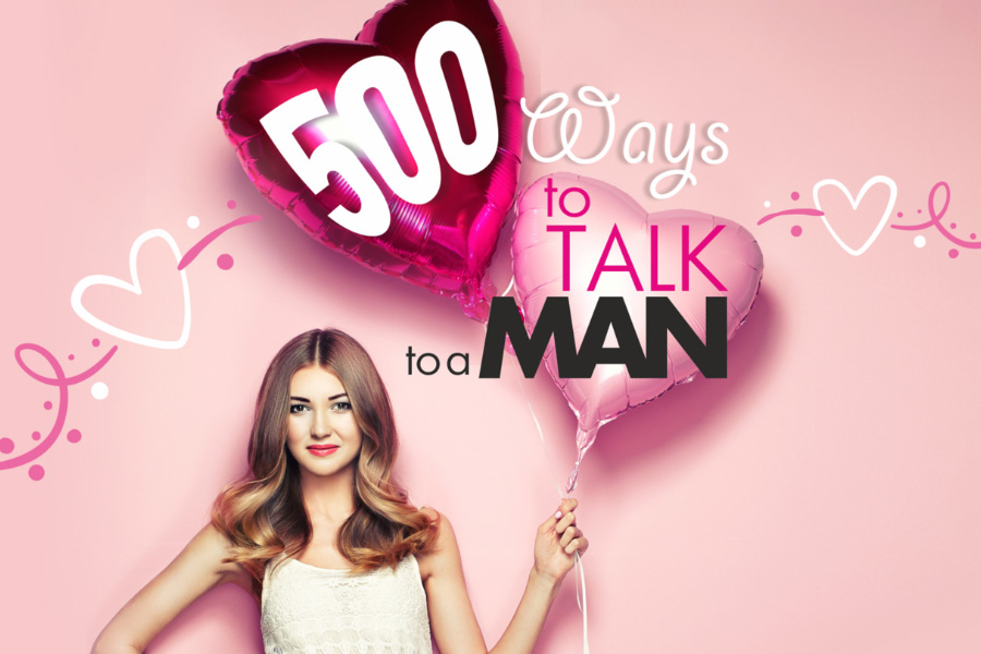 500 Ways To Talk To A Man Product