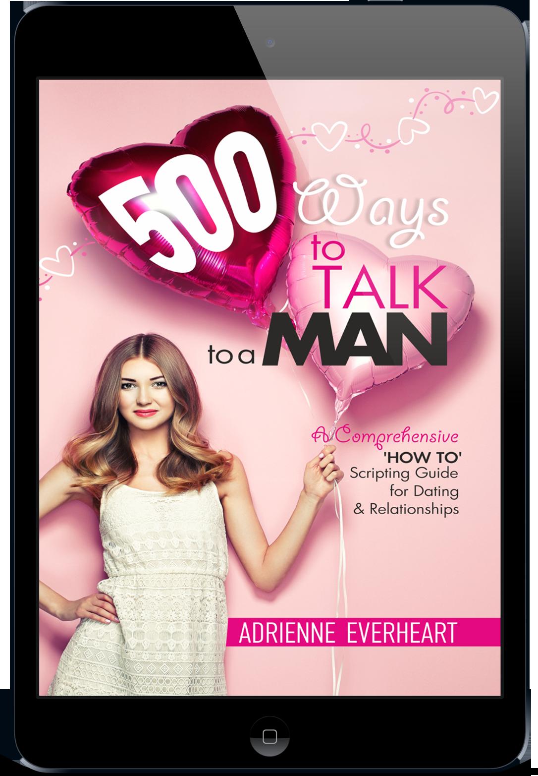 500 Ways To Talk To A Man Ipad Photo