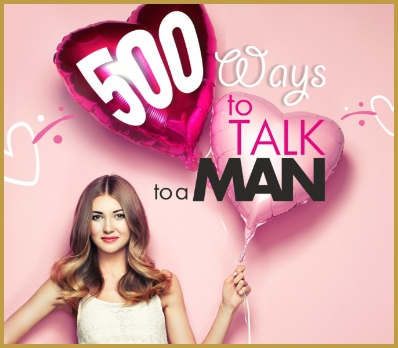 500 Ways to Talk to a Man Logo